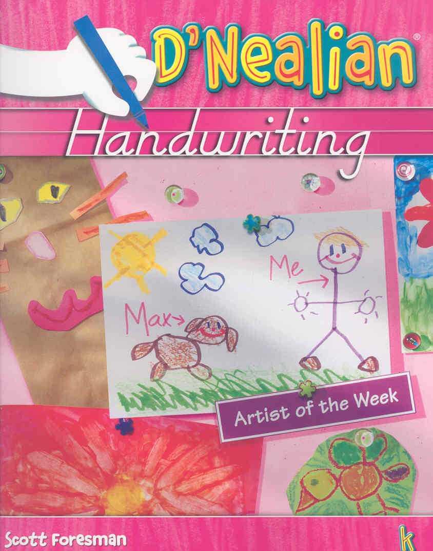 D'nealian Handwriting By Thurber, Donald Neal